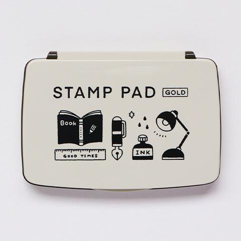 STAMP PAD ゴールド
